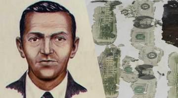 D.B. Cooper Rendering Dollar Bills