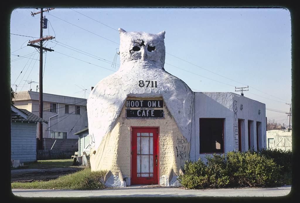 Hoot Owl Café in South Gate, California