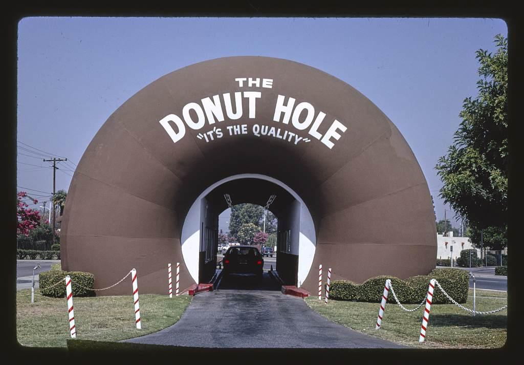 The Donut Hole in La Puente, California