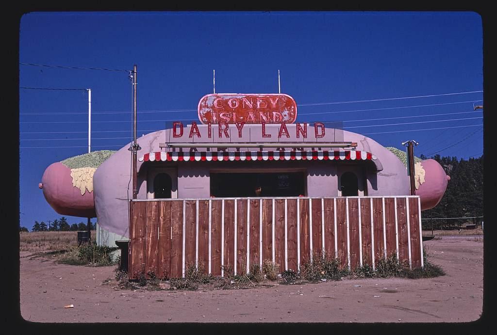 Coney Island Dairyland in Aspen Park, Colorado