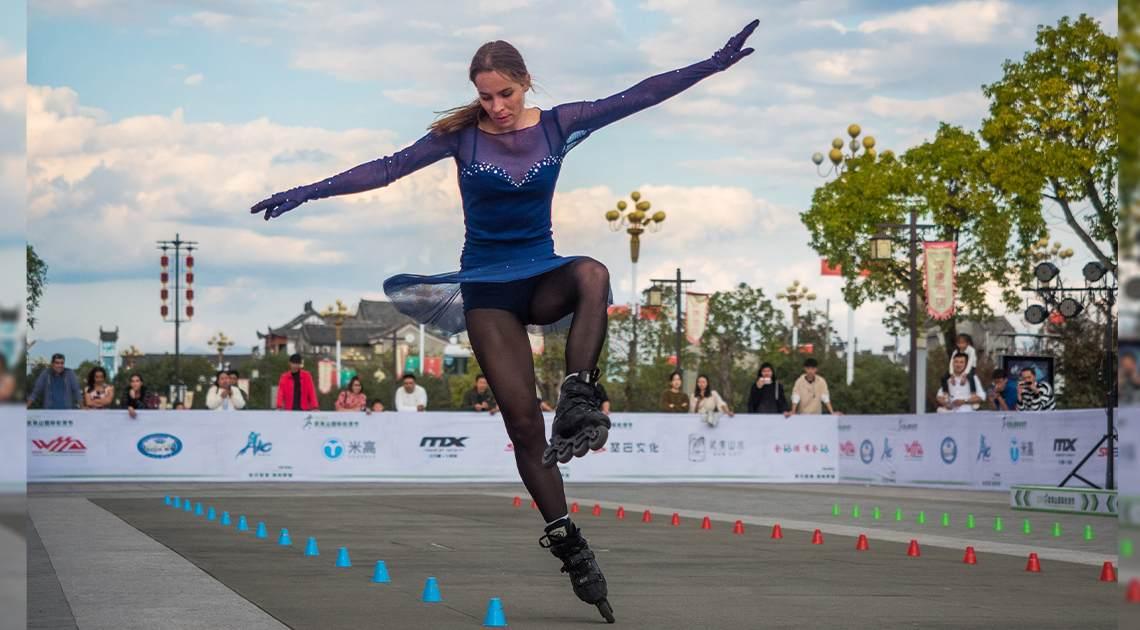 Vasilisa Maslova Freestyle Skater