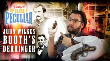 John Wilkes Booth's Derringer Thumbnail; Up Close & Peculiar