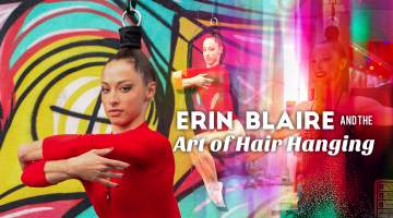 Erin Blaire Hair Hanging
