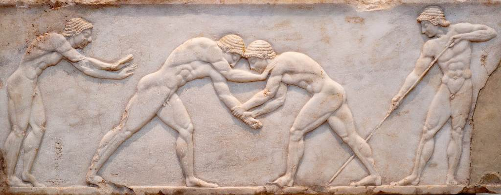 Ancient Greek Wrestling
