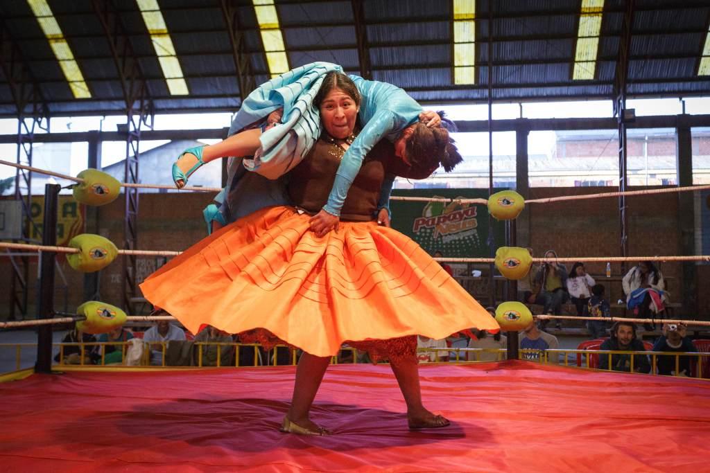 Fighting Cholitas
