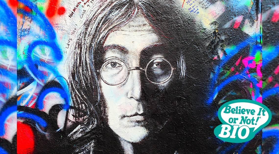 John Lennon BION Bio Cover