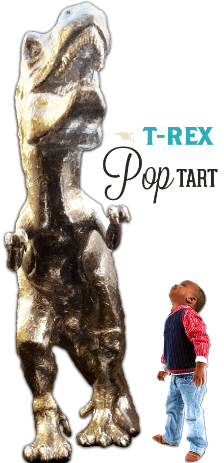 Baltimore Ripley's Believe It or Not T-Rex Pop Tart