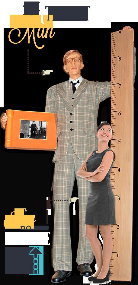 Key West Ripley's Believe It or Not Tallest Man